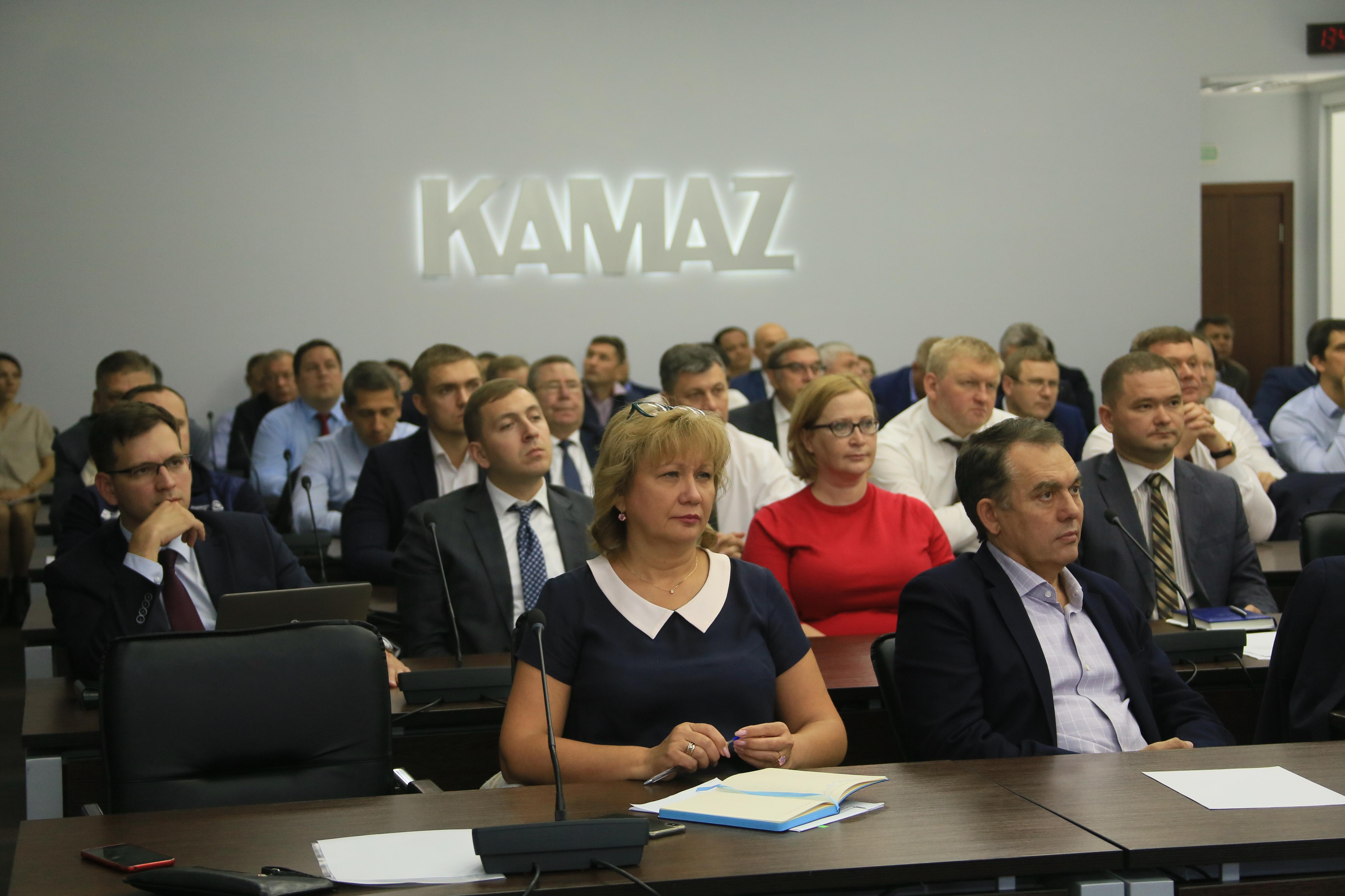 Установочная сессия на «КАМАЗе»