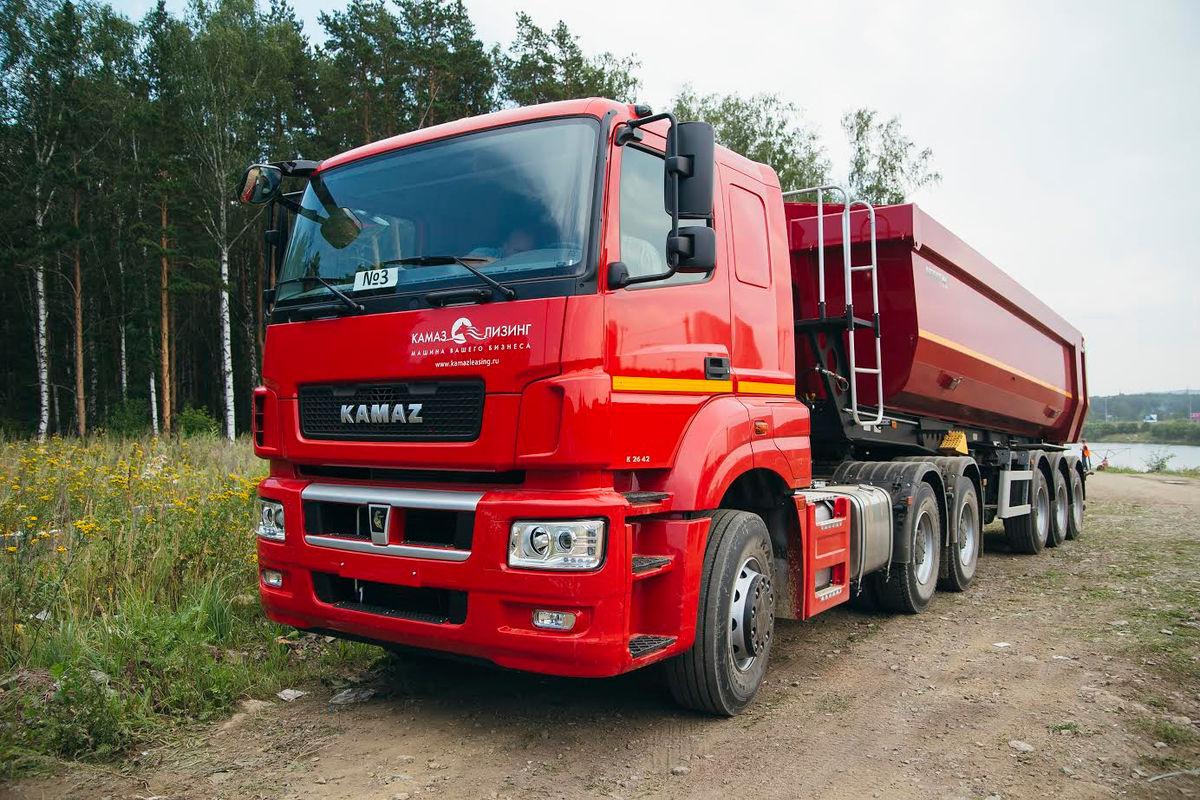 Автомобили КАМАЗ для нового клиента