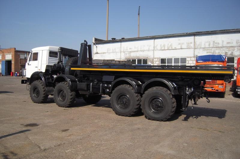 «Мультилифт» на шасси КАМАЗ-63501 – перспективная техника для народного хозяйства
