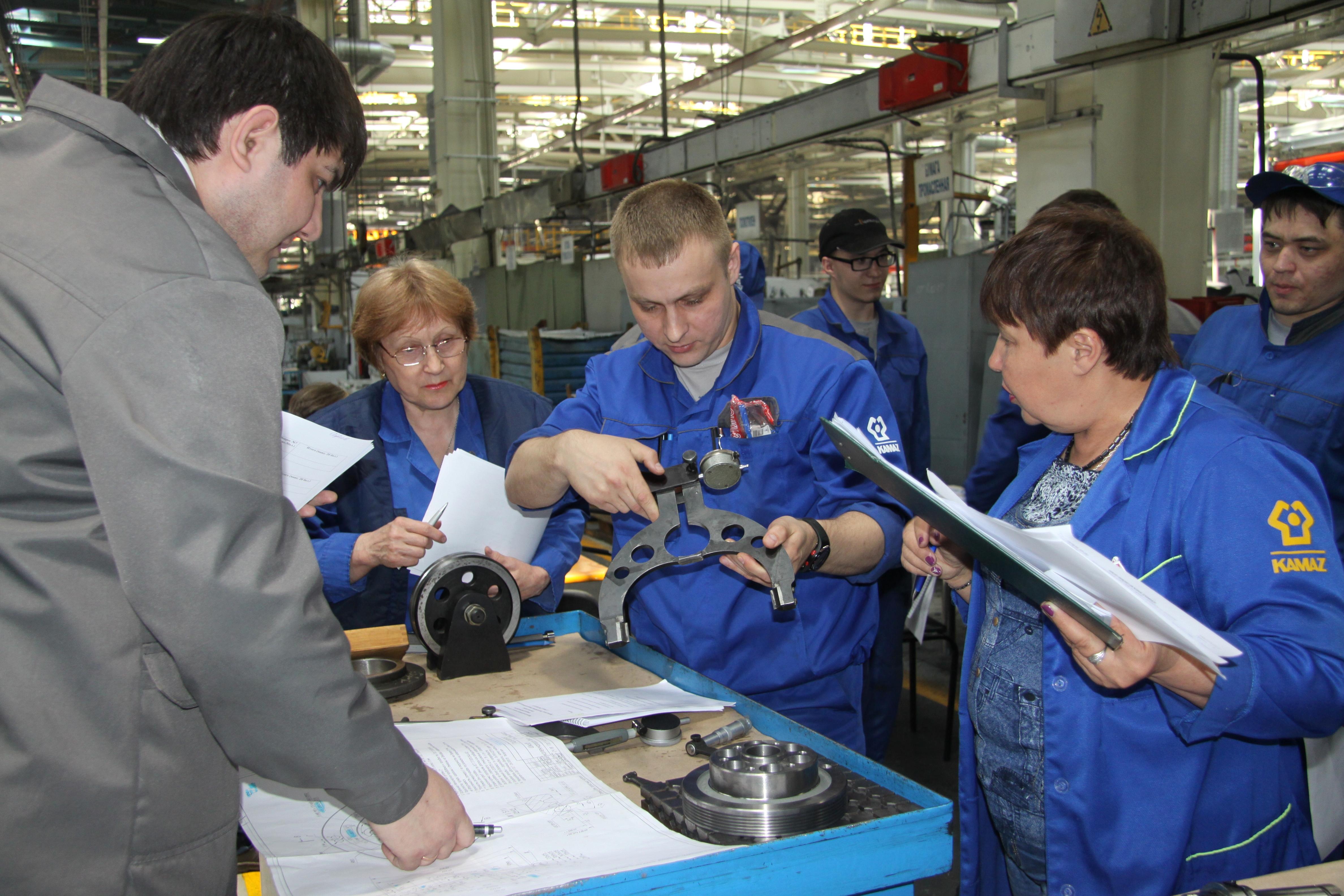 На заводе двигателей определили «Лучших по профессии»