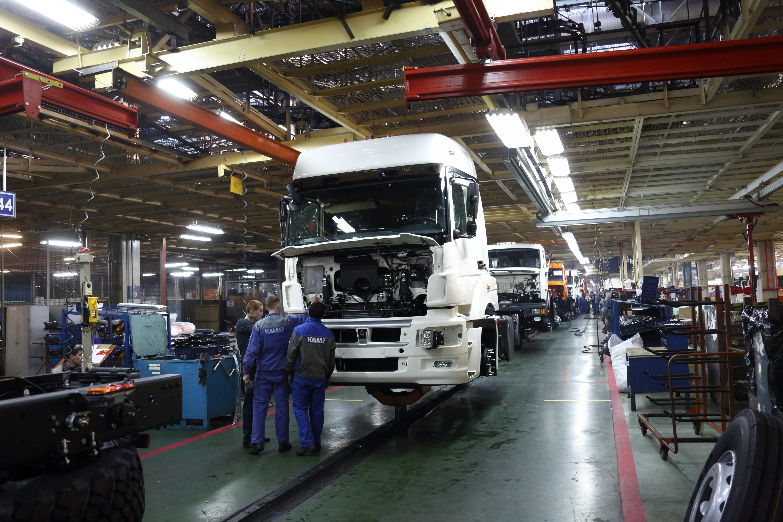 Топ-менеджеры «ЕвроХима» и «Инвеко» посетили «КАМАЗ»