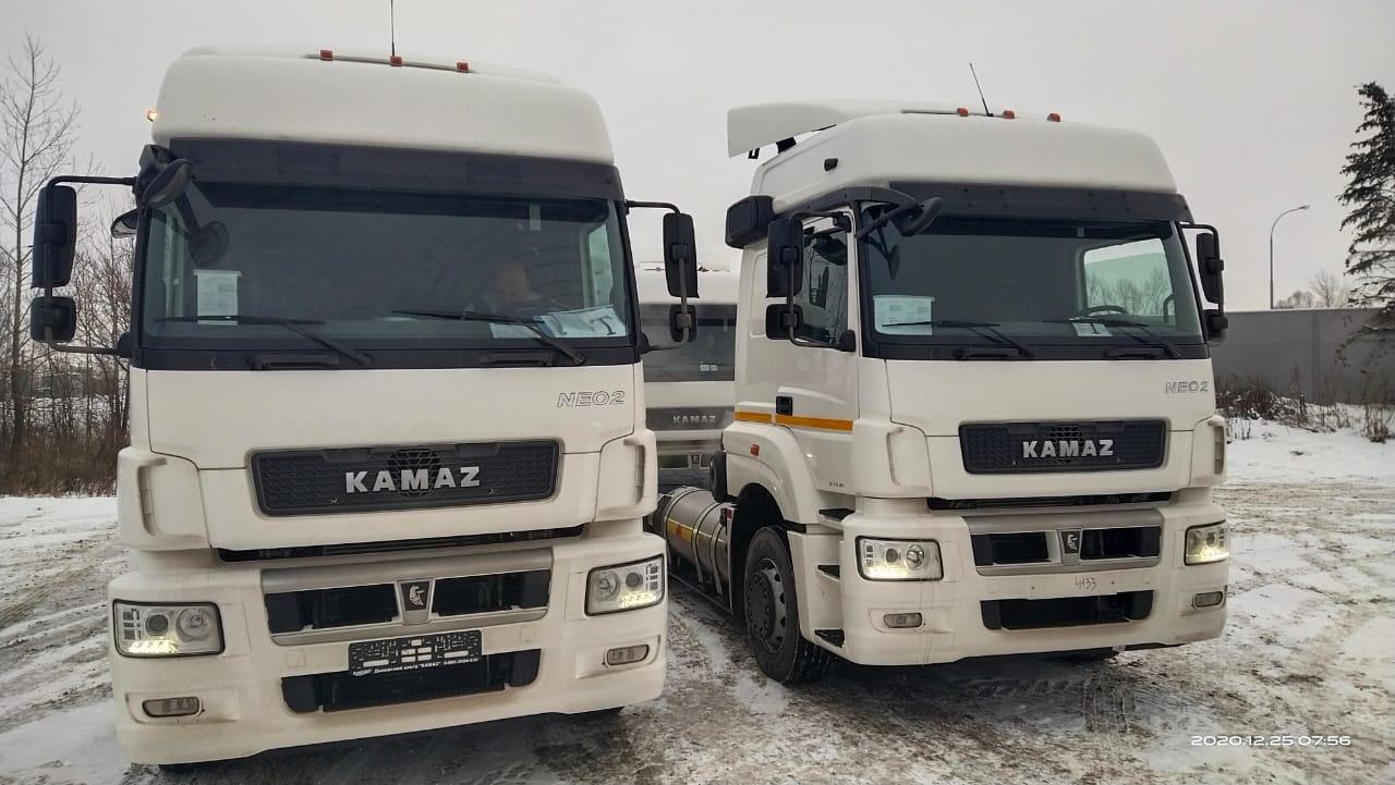 Газовые КАМАЗы-5490 в лизинг для ООО «СИМ ГРУП»