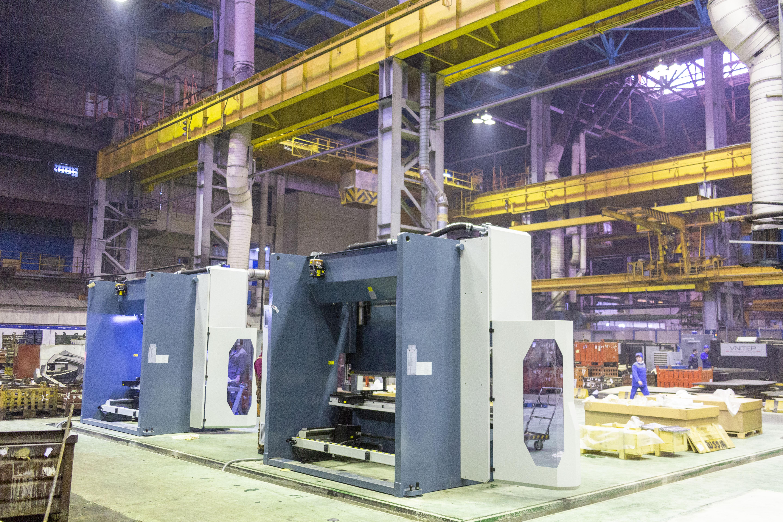 Гибочные станки с ЧПУ для прессово-рамного завода