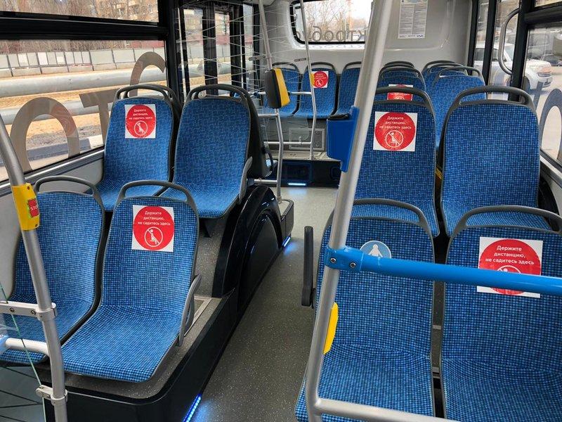 Электробусы КАМАЗ проходят ежедневную дезинфекцию