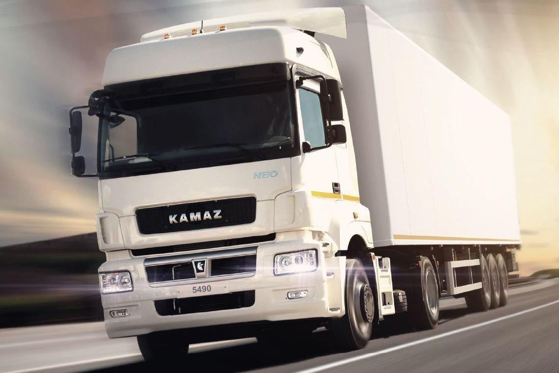 Автомобили КАМАЗ-5490 NEO для транспортной компании