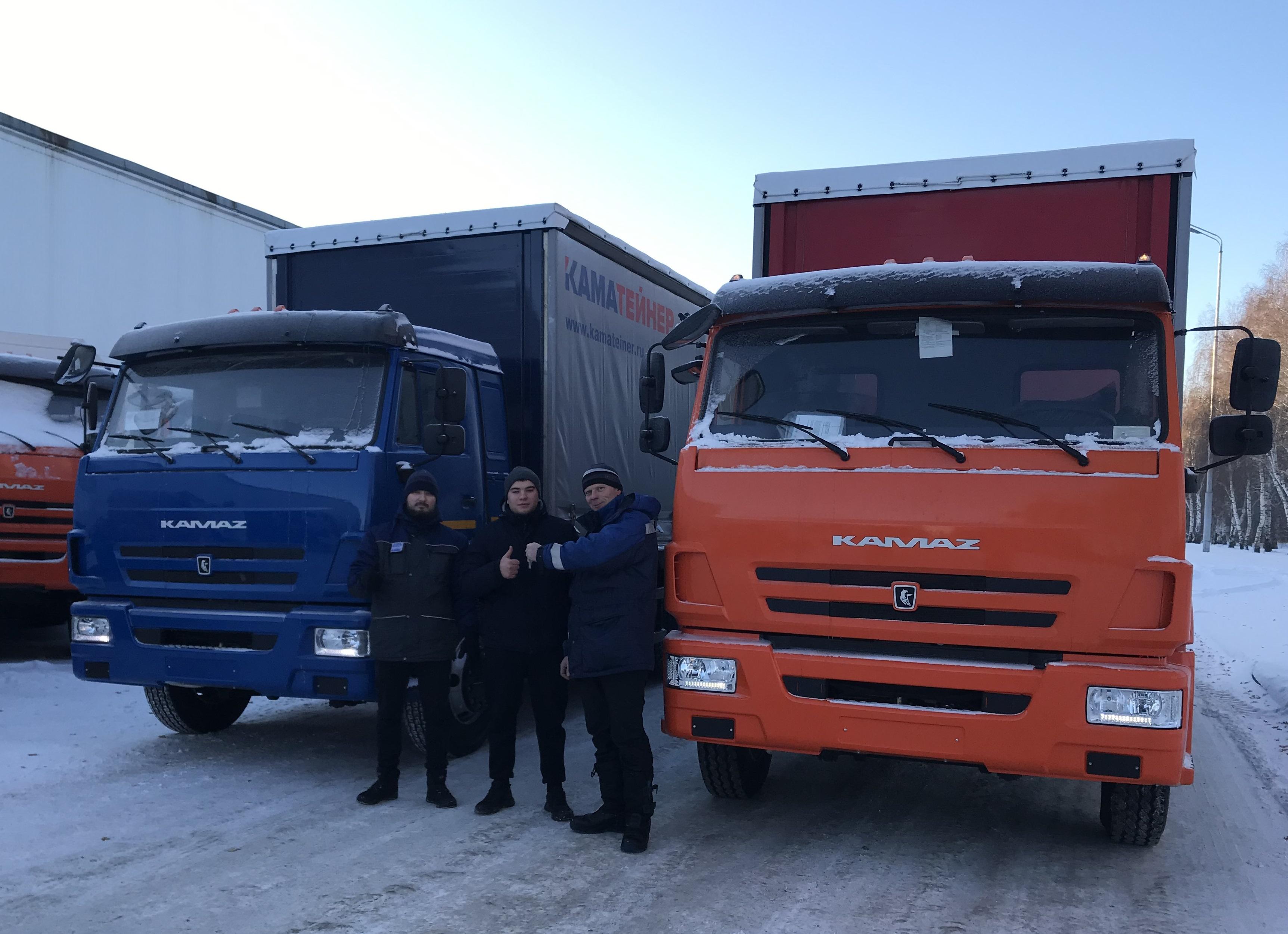 Спецавтомобили КАМАЗ для ООО «ИнтерТранс-КАМАЗ»