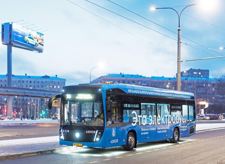 Ночные электробусы перевезли 10 тысяч москвичей