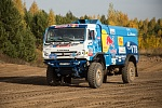 KAMAZ-MASTER ORGANIZED TEST DRIVE OF RACING TRUCKS FOR THE MEDIA