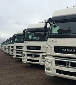 New Truck Tractors for Leasing by KAMAZ