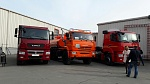 KAMAZ at the Transport and Roads of Siberia Exhibition