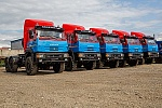 All-terrain tractors and trucks for oilfield Services Company