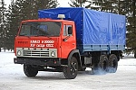 45th anniversary of the first KAMAZ truck