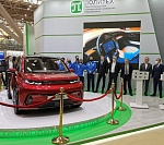 KAMA-1 electric car presented in Moscow