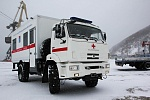 The First Ambulance on KAMAZ Chassis Arrived in Magadan