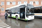 KAMAZ's New Electrobus Is Presented in Podolsk