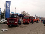 KAMAZ VEHICLES AT EXHIBITION IN SARATOV