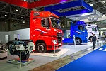 The KAMAZ showpieces at the exhibition Comtrans 2019