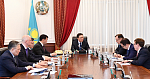 Sergey Kogogin met with the Prime Minister of Kazakhstan