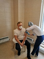 Director General of KAMAZ has been vaccinated against COVID-19